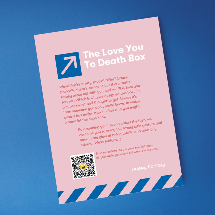 The Love You To Death Box - Happy Factory