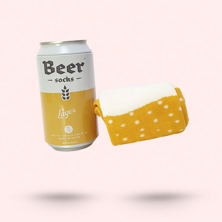 Luckies Beer Socks - Happy Factory