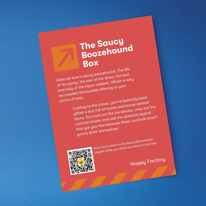 The Saucy Boozehound Box - Happy Factory