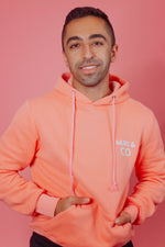 Load image into Gallery viewer, Original Logo Hoodie in Peach Pink - Murs & Co