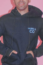 Load image into Gallery viewer, Original Logo Hoodie in Midnight Black - Murs & Co