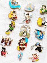 Load image into Gallery viewer, FULL C GRADE SET | ATLA in Action | Hard Enamel Pin