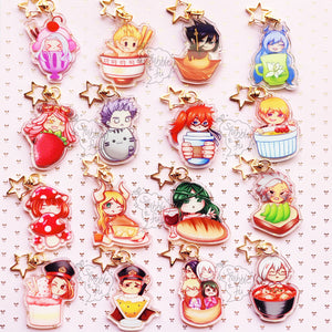 BnHA Cafe | Other Students & Civilians Acrylic Charms