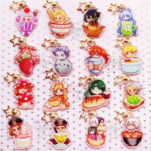 Load image into Gallery viewer, BnHA Cafe | Other Students & Civilians Acrylic Charms