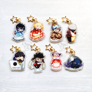 BnHA Cafe | Villains Acrylic Charms