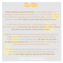 Load image into Gallery viewer, FIP Warrior | Feline Infectious Peritonitis Charity Pin