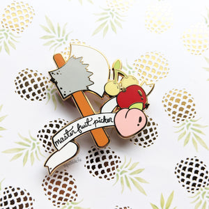 Master Fruit Picker | Hard Enamel Pin