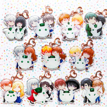 Load image into Gallery viewer, Furuba Onigiri OTPs | Acrylic Charms