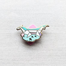 Load image into Gallery viewer, Haku Oragami | Hard Enamel Pin