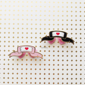 Lovely Headband | Hard Enamel Pin