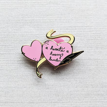 Load image into Gallery viewer, A Heart's a Heavy Burden | Hard Enamel Pin