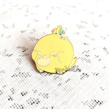 Load image into Gallery viewer, Poké Pride Pin Pals | Psyduck Enamel Pin
