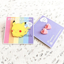 Load image into Gallery viewer, Poké Pride Pin Pals | Pikachu Enamel Pin