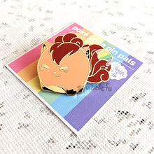 Load image into Gallery viewer, ***RETIRING last chance!*** Poké Pride Pin Pals | Vulpix Enamel Pin