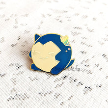 Load image into Gallery viewer, Poké Pride Pin Pals | Snorlax Enamel Pin