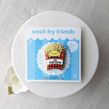 Load image into Gallery viewer, Small Fry Friends | Waffle Fries Enamel Pin