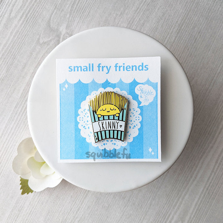 Small Fry Friends | Skinny Fries Enamel Pin