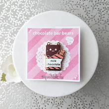 Load image into Gallery viewer, Choco Bar Bears | Milk Choco Enamel Pin