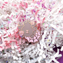 Load image into Gallery viewer, Sweet Witch Snacks | Sparkling Spider Enamel Pin