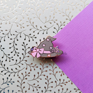 Sweet Witch Snacks | Charming Witch's Hat Enamel Pin