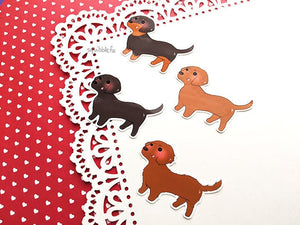 Dashing Doggos Stickers