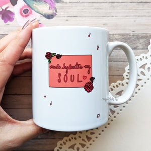Music is Passion | Coffee Mug Cup