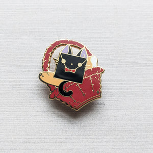 Jiji's Basket | Hard Enamel Pin