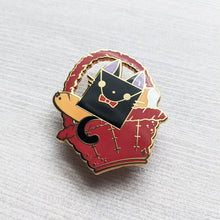 Load image into Gallery viewer, Jiji's Basket | Hard Enamel Pin