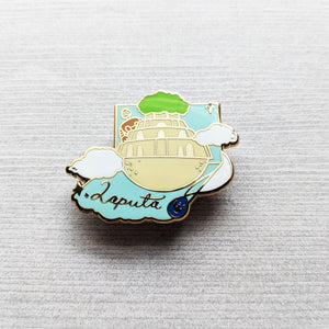 Popup Castle | Hard Enamel Pin