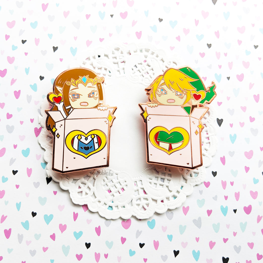 Legend of Sweets TwiPri | Hard Enamel Pin