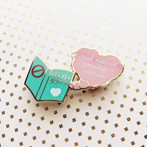 Read Makeout Paradise With Me | Hard Enamel Pin
