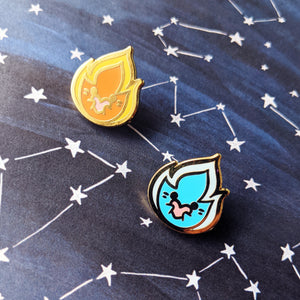 Starlight Lovers Enamel Pin