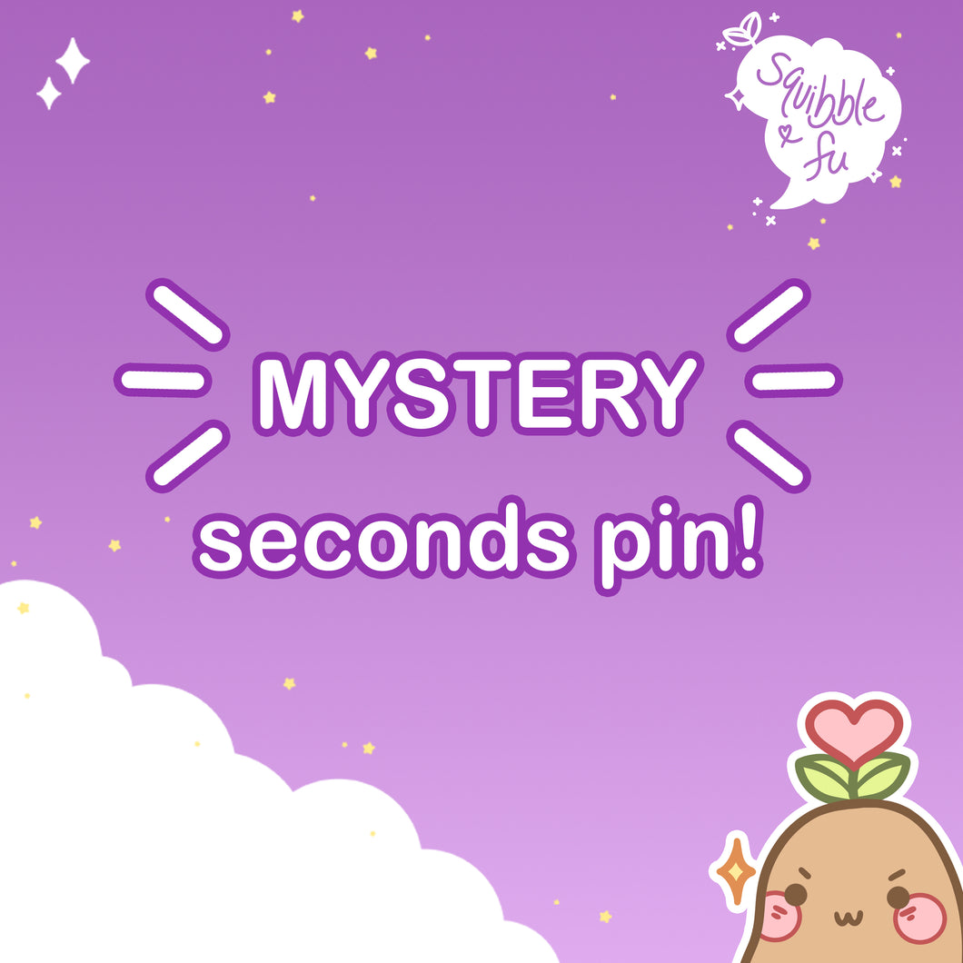 MYSTERY Seconds Pin