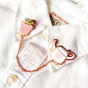 Self Love (Pink) | Hard Enamel Collar Pin