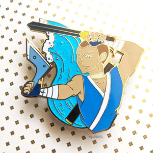 Sokka | ATLA in Action | Hard Enamel Pin