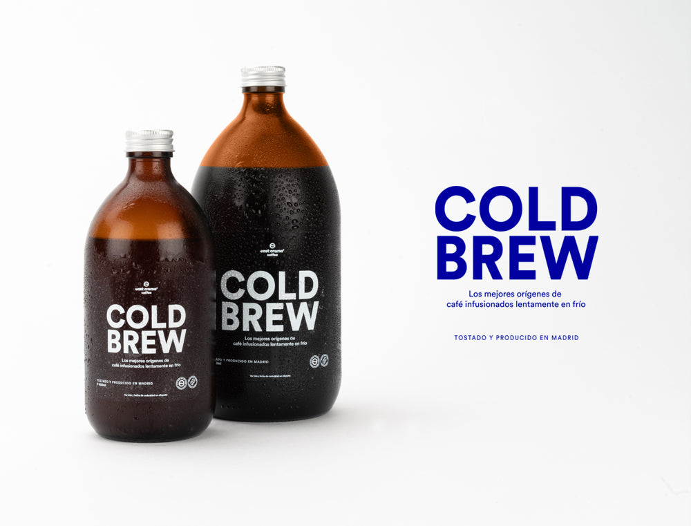 Cold Brew East Crema Coffee, ya disponible en diferentes formatos.