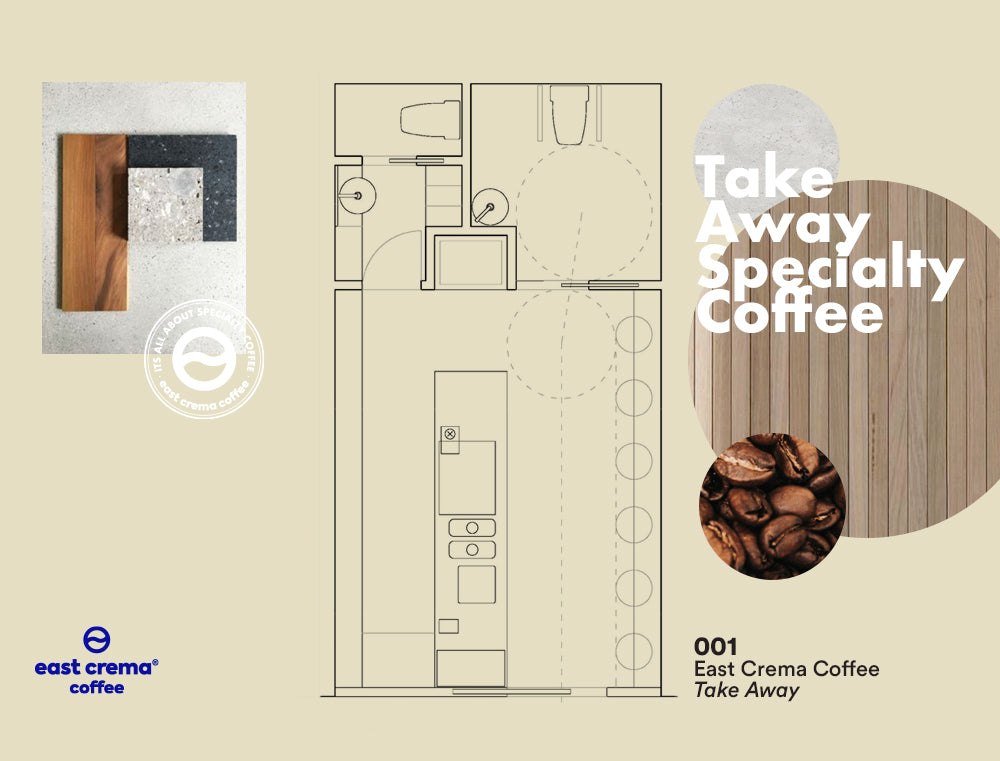 East Crema Coffee Espacio Take Away
