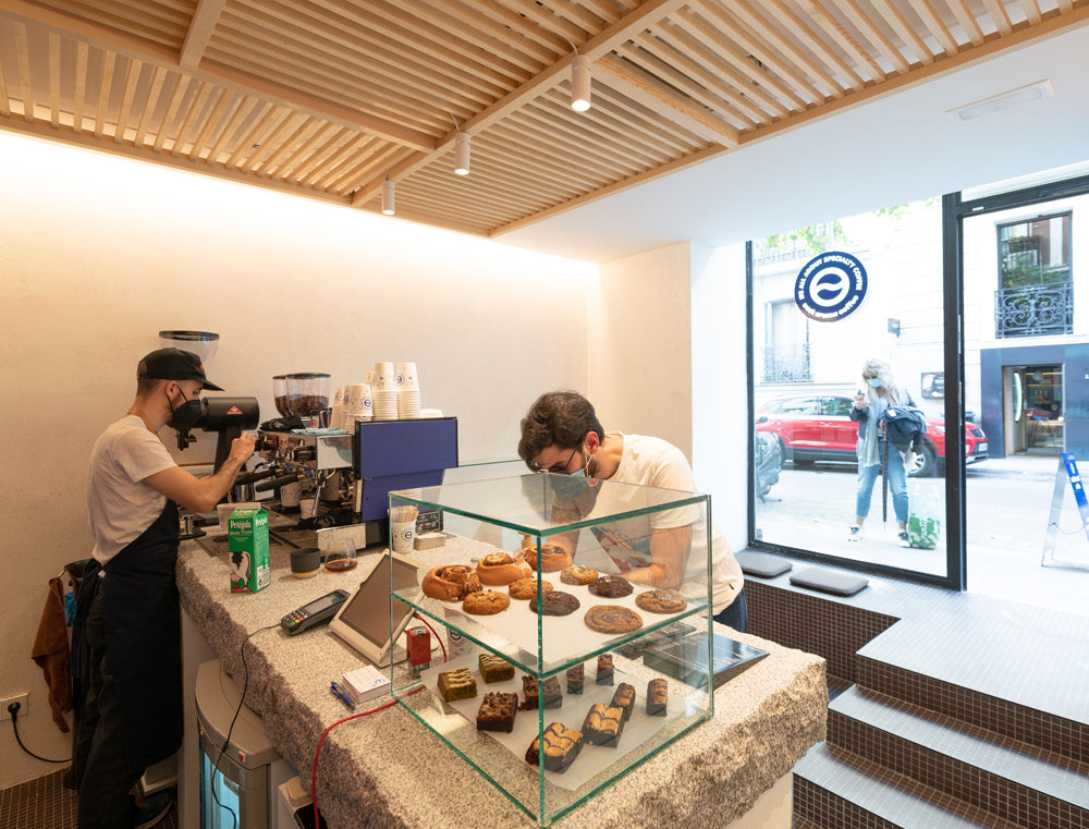 Café de especialidad en Madrid East Crema Coffee