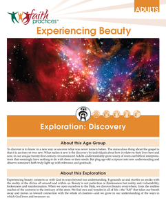 Faith Practices | Experiencing Beauty (Downloadable PDFs)