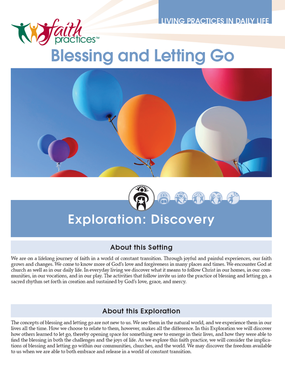 Faith Practices | Blessing and Letting Go (Downloadable PDFs)