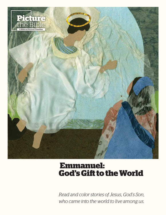 Emmanuel | God's Gift to the World (Story Coloring Book)