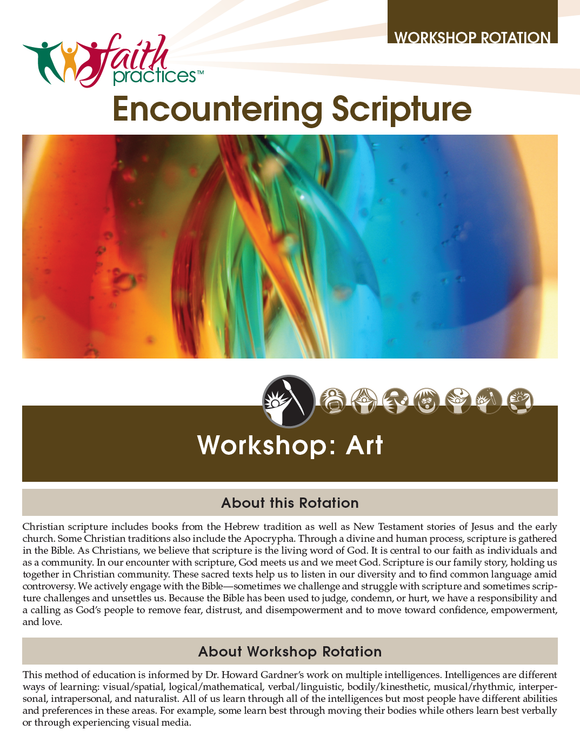 Faith Practices | Encountering Scripture (Downloadable PDFs)