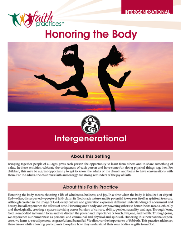 Faith Practices | Honoring the Body (Downloadable PDFs)