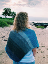 Load image into Gallery viewer, The Seaside Shawl - A Tunisian Crochet Shawl Pattern