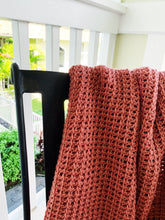 Load image into Gallery viewer, Tunisian Crochet Blanket Pattern