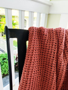 Tunisian Crochet Blanket Pattern