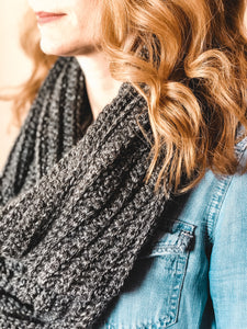 The Getaway Crochet Infinity Scarf