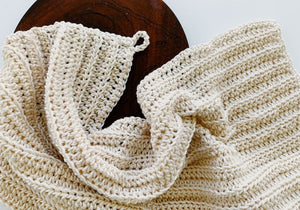 Easy Crochet Dish Towel Pattern (Two Sizes)