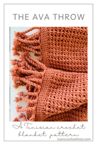 The Ava Throw A Crochet Throw Pattern