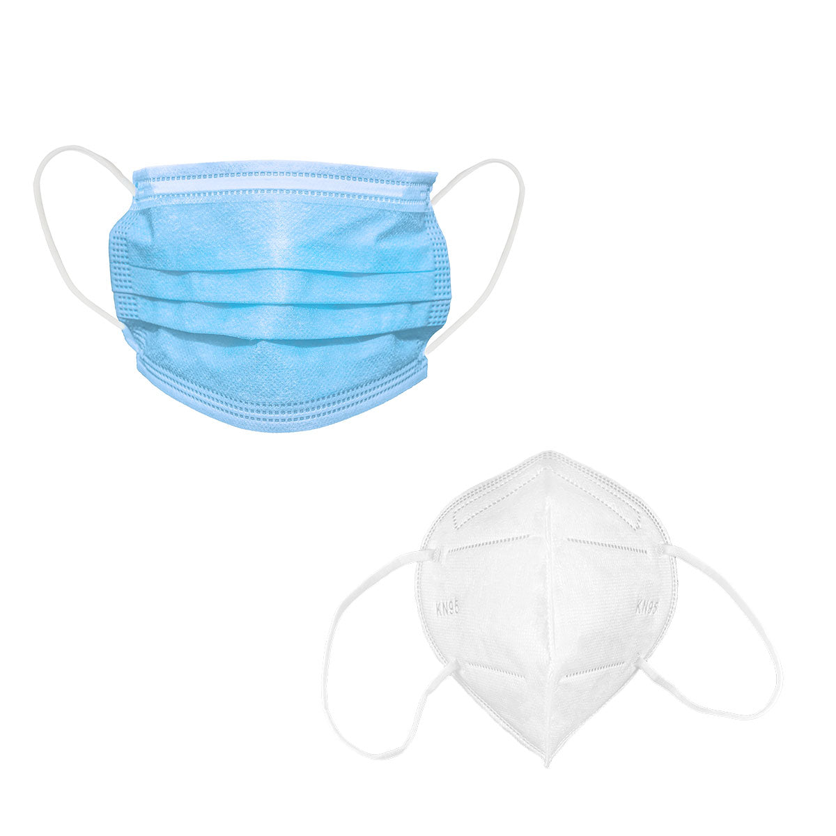 C2W Health coupon: (20 PACK) KN95 /FFP2 4-Layer Fitted Disposable Mask + (50 PACK) 3 Ply Disposable Masks
